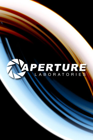 Aperture Science with both portals | iPhone Wallpaper | Larry Tomlinson | Flickr