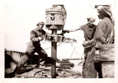 Kuwait...Bechtel International, Persian Gulf, Oil Drill-he ...