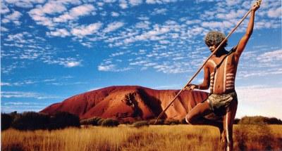 Aborigen en Uluru-kata Tjuta, Australia | Jordi Miralles ...
