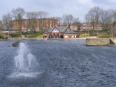 Boating Lake, Alexandra Park, Oldham   Pimlico Badger   Flickr
