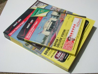 Yellow Pages - Bryan - College Station, Texas | Si1very | Flickr