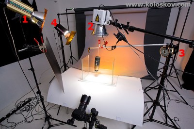 Still life underwater photography lighting setup | Setup ...