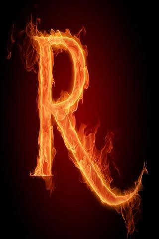 Iphone alphabet wallpaper - r | For more Alphabets Iphone wa… | Flickr