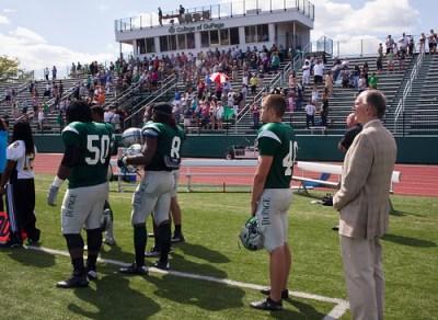 College of DuPage Dedicates Football Stadium to Bjarne Ull… | Flickr