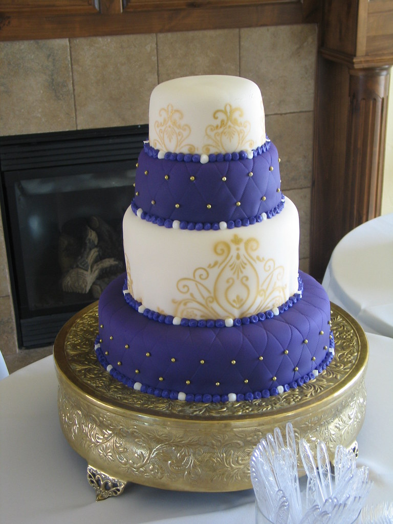 purple and gold wedding cakes Ftf9Hao 7CNl*MBqlOaBKVeZwiU purple and gold wedding Purple Gold Wedding Cake Nightingale Cakes Tier
