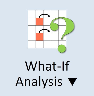 MS Excel 2010 ~ What-If Analysis Icon | Microsoft Excel 2010… | Flickr