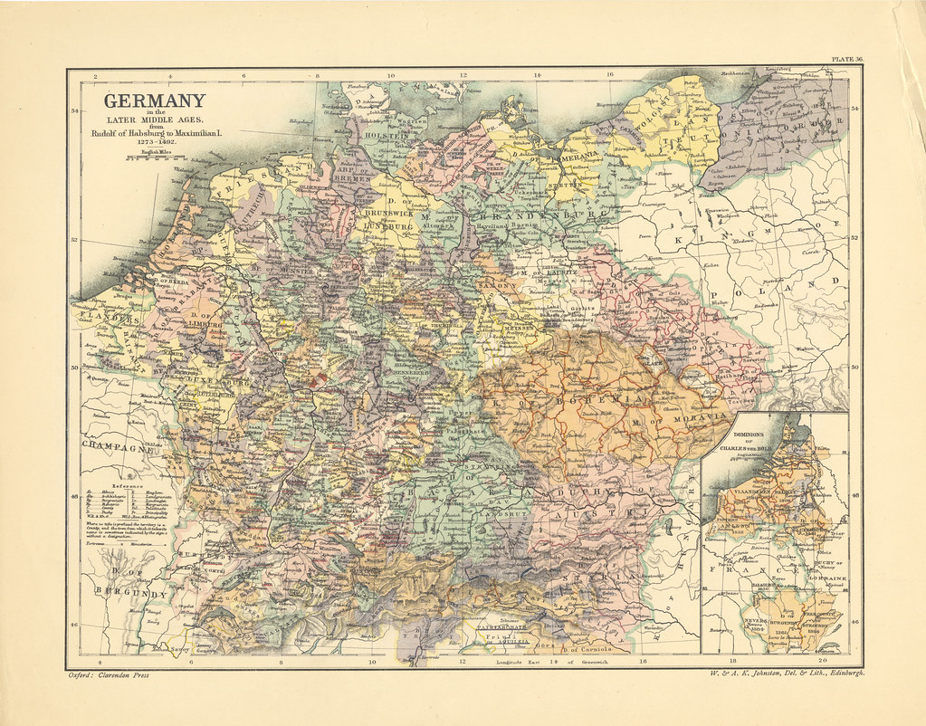Map page of Section XXXVI Germany in the Later Middle Ages      Flickr     Map page of Section XXXVI Germany in the Later Middle Ages  1273 1492