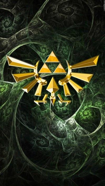 iPhone 5 Wallpaper Zelda Triangle 2 by APPLERAICING | Flickr