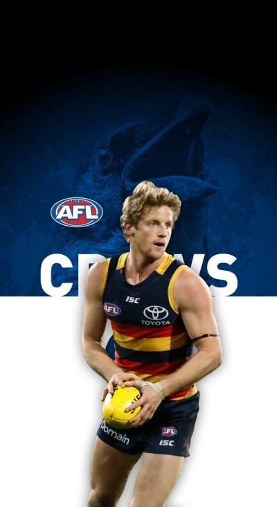 #9 Rory Sloane (Adelaide Crows) iPhone X Wallpaper | Flickr