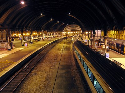 008 York | Rail Station We had supper on the train from King… | Flickr