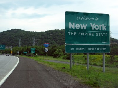 Welcome to New York | I-287/NY 17/NJ 17 northbound - New Yor… | MPD01605 | Flickr