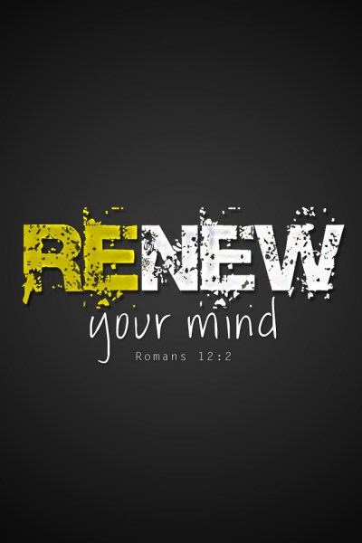 Romans 12:2 (RENEW) | 640x960 iPhone background wallpaper - … | Flickr