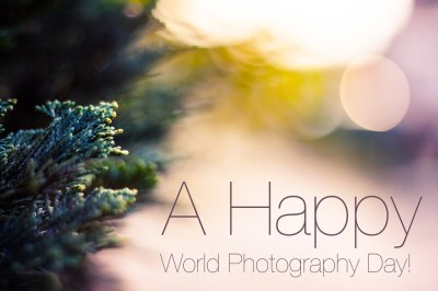 Happy World Photography Day!   Trying it with sort of an abs…   Flickr