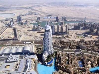 Burj Khalifa view | Dubai Downtown 2012 - The Address ...