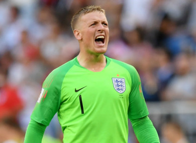 Pickford is the prototype of what a modern goalkeeper should be  England goalkeeper Jordan Pickford