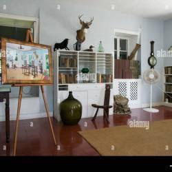 Writers Studio at Ernest Hemingway Residence Key West Florida Stock