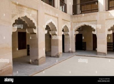 traditional arabic house museum, dubai, uae Stock Photo ...