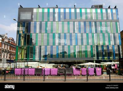 Idea Store in Whitechapel Road London The building was designed by Stock Photo: 23782748 - Alamy