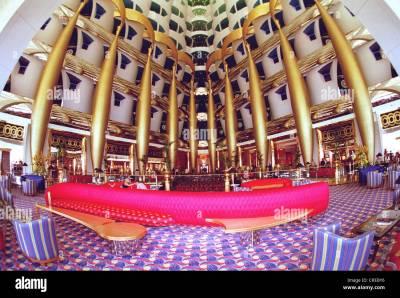 Burj Al Arab, the most expensive hotel in the world, Dubai, United Stock Photo: 48874538 - Alamy