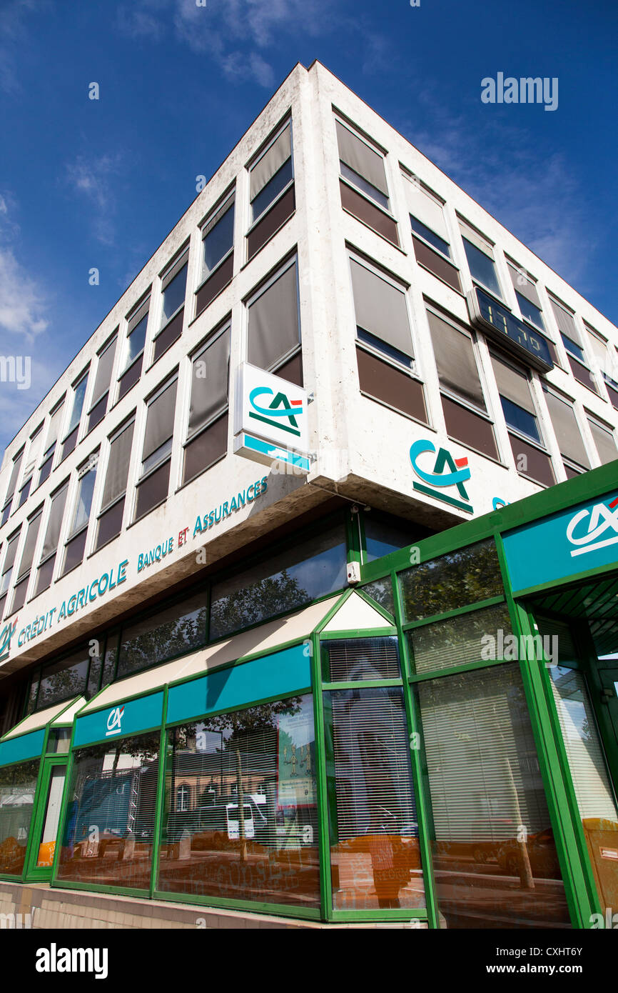 Credit Agricole bank in Chartres  Loire  France Stock Photo     Credit Agricole bank in Chartres  Loire  France