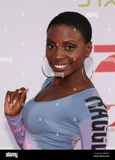 British dancer Nikeata Thompson, judge of the dance program 'Got to Stock Photo, Royalty Free ...