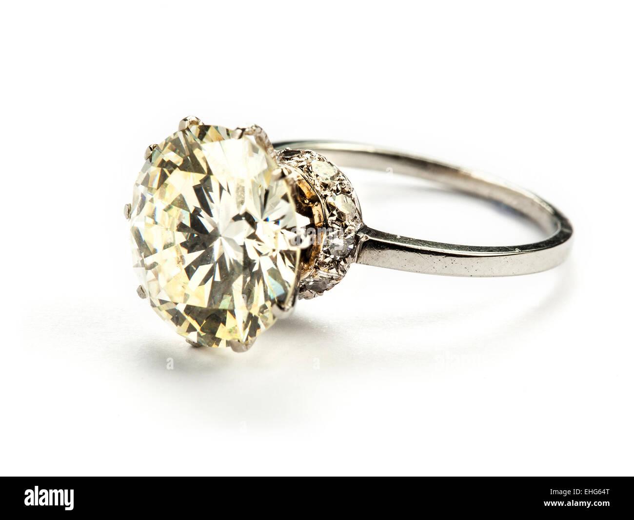stock photo ct diamond single stone ring valued between wedding ring 5 75ct diamond single stone ring valued between