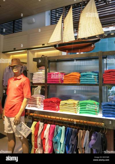 Island Lifestyle Display, Tommy Bahama Clothing Store, 5th ...