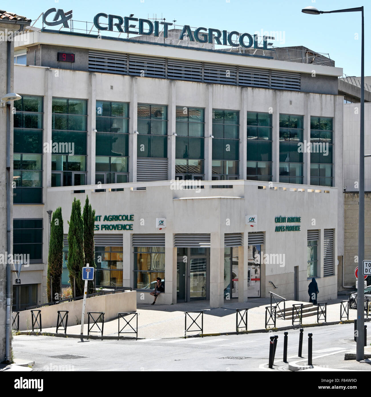 Arles Provence France Credit Agricole bank and offices in Stock     Arles Provence France Credit Agricole bank and offices in Bouches du Rh    ne  Provence Alpes C    te d Azur