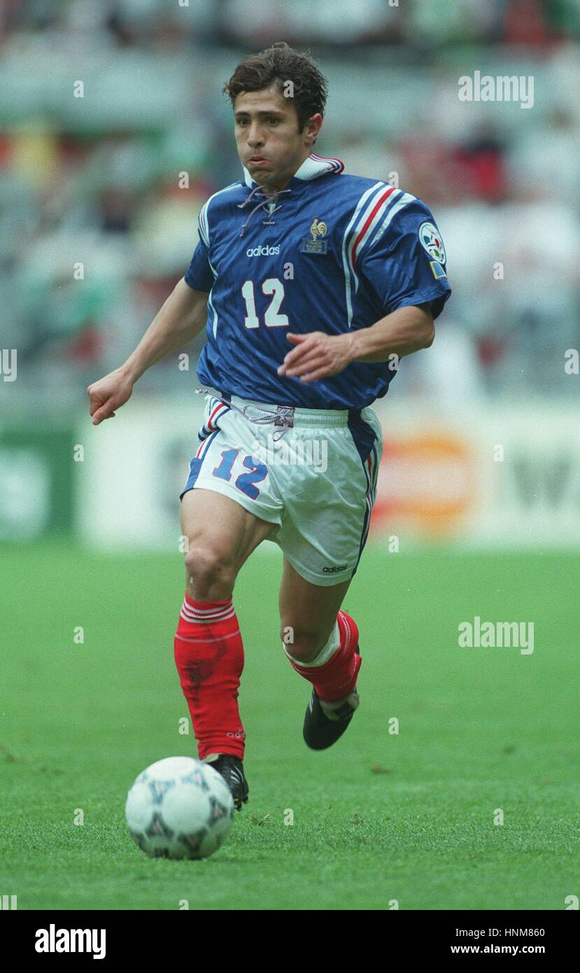 Bixente Lizarazu France Bordeaux 19 Stock Photos   Bixente Lizarazu     BIXENTE LIZARAZU FRANCE   BORDEAUX 19 June 1996   Stock Image