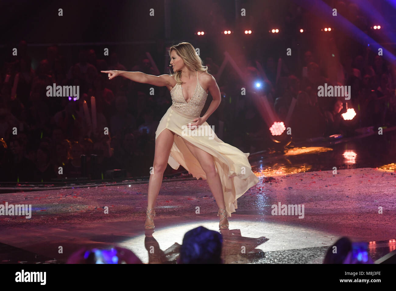 Helene Fischer Stock Photos   Helene Fischer Stock Images   Page 5     Singer Helene Fischer performing at the Saturday