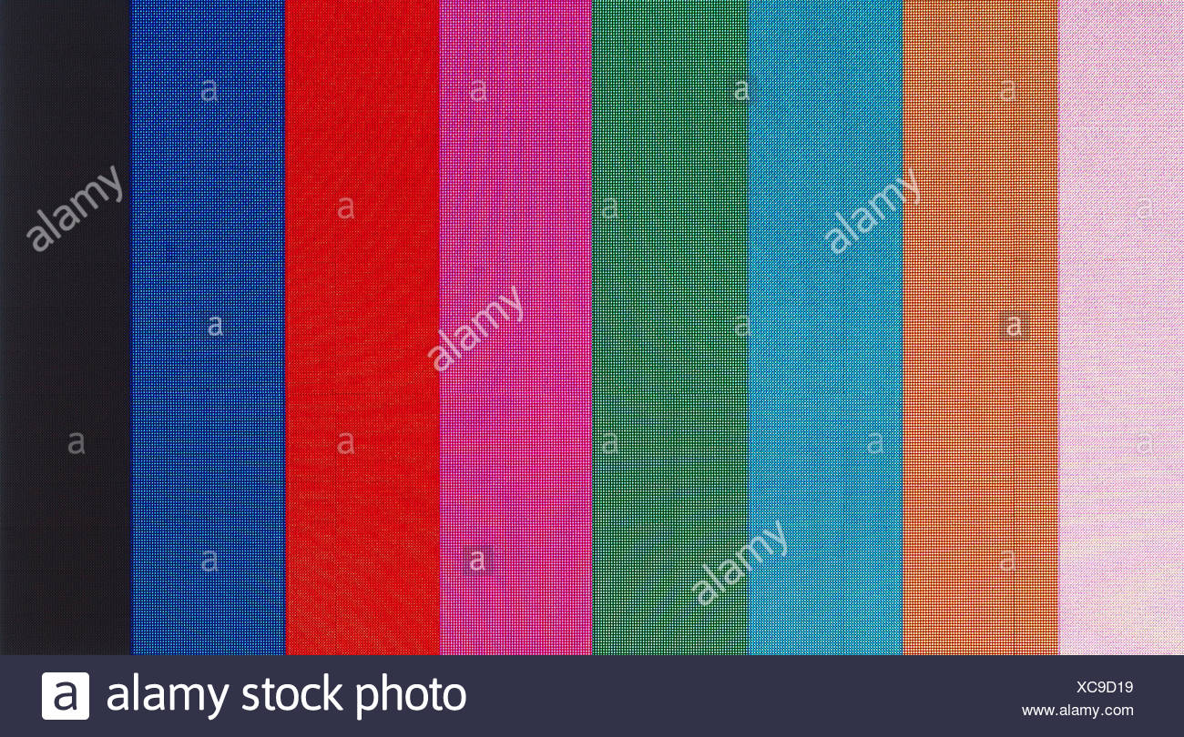 Broadcast Television Programme Tv Test Stock Photos   Broadcast     colour  screen  television  tv  televisions  pattern  color  bar