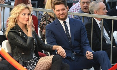 Michael Buble thanks fans for support during son's cancer battle