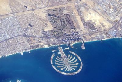 Astronaut tweets Dubai Palm Jumeirah from space - Emirates24|7