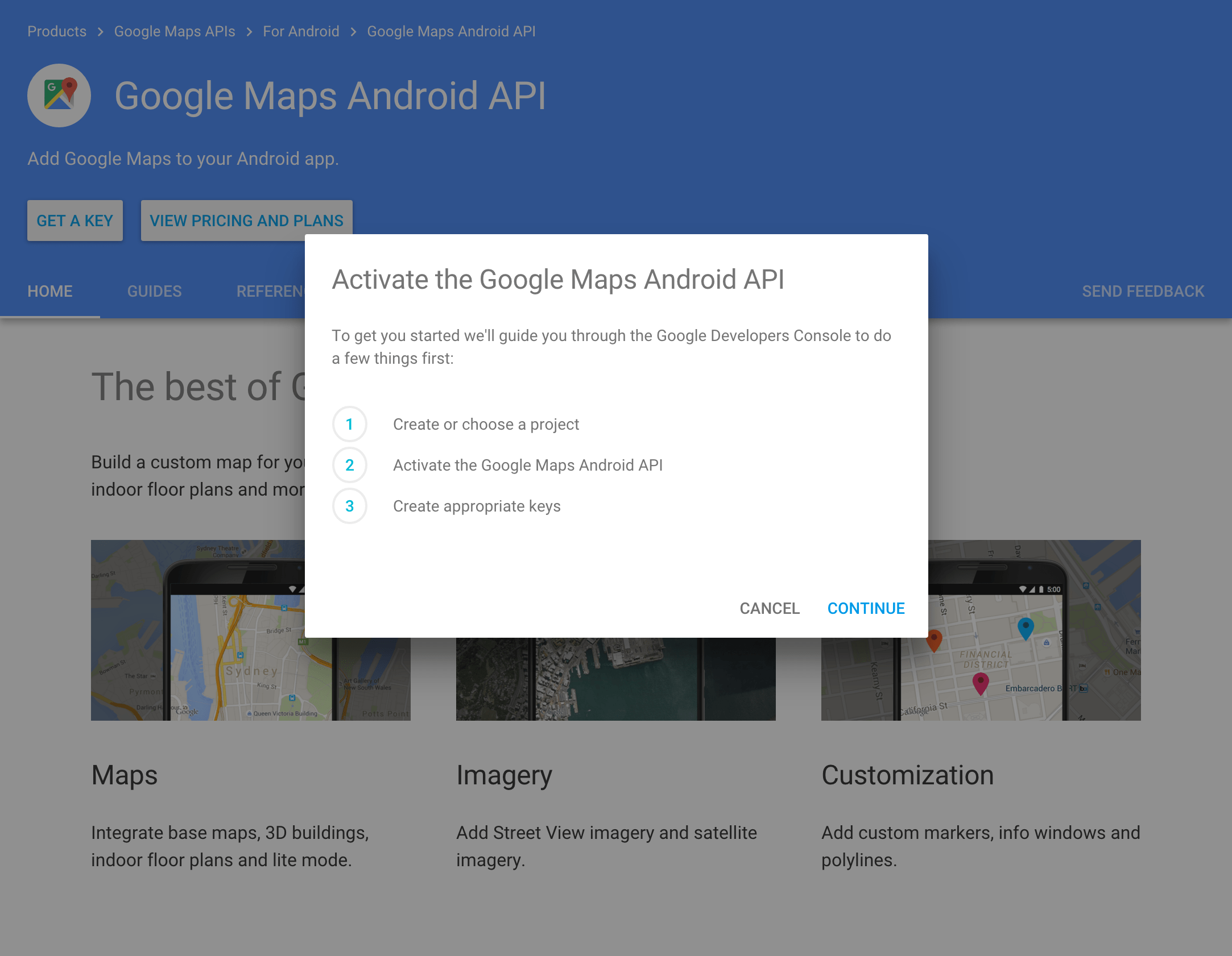 Google Maps Fragment Guide      codepath android guides Wiki      GitHub Get API Key  Navigate to Google Maps