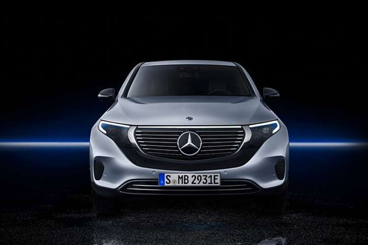 Novo elétrico Mercedes EQC é lançado (Foto: Divulgação)