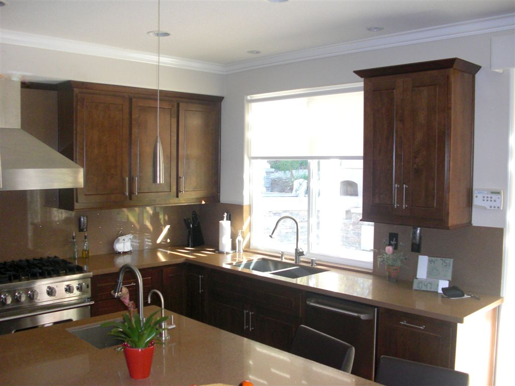 kitchen cabinetry kitchen cabinet stain Shaker Style cabinets