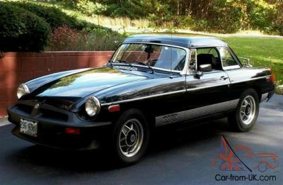 1980 MGB LE 41K miles with factory hard top