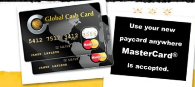 Sign up for the Starbucks Paycard from Global Cash Card