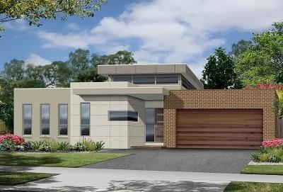 Proiecte de case moderne pe un singur nivel - spatii ...