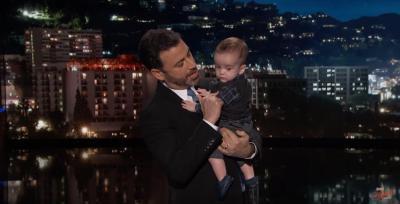 Ellen DeGeneres surprises Jimmy Kimmel with a dedication to his son - CBS News
