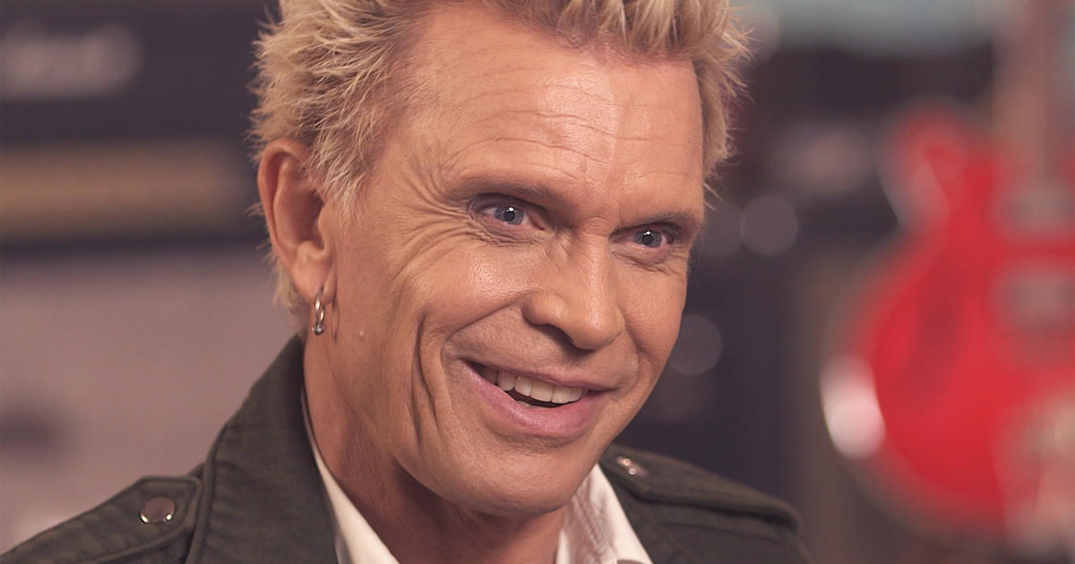 Billy Idol still has the swagger   CBS News  Billy Idol still has the swagger   CBS News