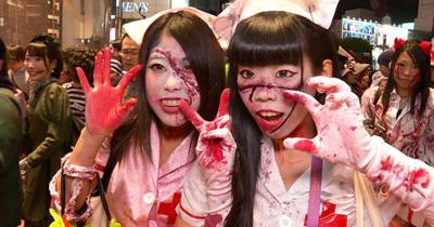 Halloween in Japan goes from foreign oddity to popular ...