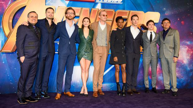 A Marvel rookie tried to guess the names of the Avengers and they re     The Avengers cast