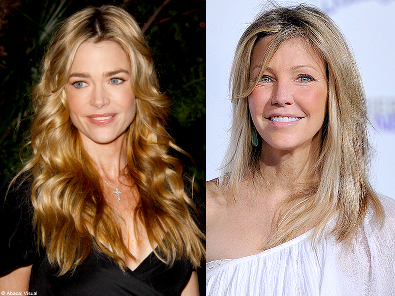 People diaporama stars qui se detestent Denise Richards heather     People diaporama stars qui se detestent Denise Richards heather locklear    Stars   les meilleurs ennemis d Hollywood   Elle
