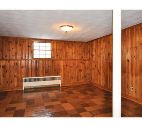 Painting Knotty Pine Panelling | Hometalk