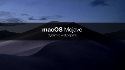 macOS Mojave dynamic wallpaper – ITNEXT