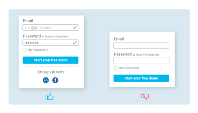 10 signup page do and don't – Prototypr