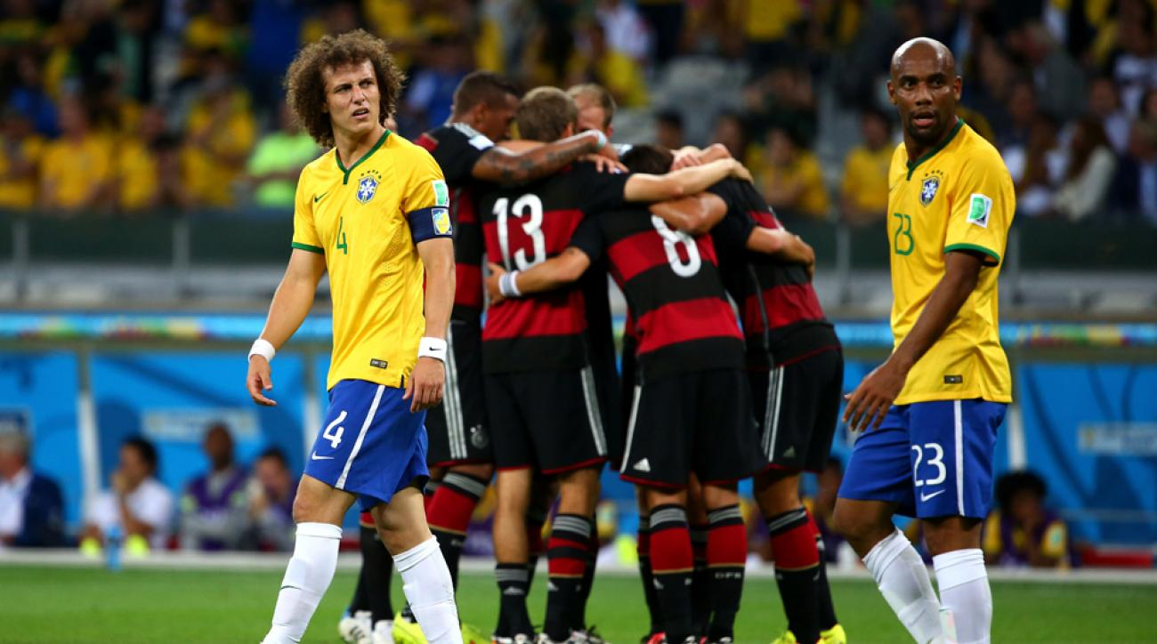 Watch the goals in Germany's World Cup rout of Brazil a year later   SI.com