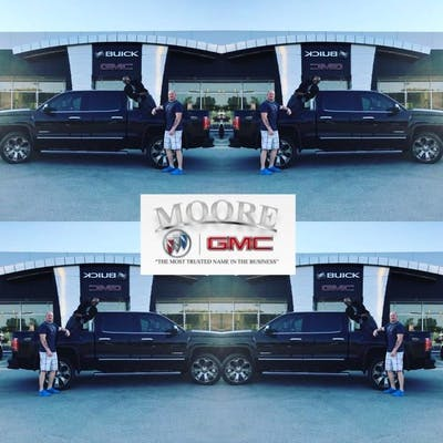 Moore Buick GMC   Buick  GMC  Used Car Dealer  Service Center     Jonny and Ryan not only found the exact truck i wanted but made buying it  possible when others said no  Im very surprised how they have been eager to