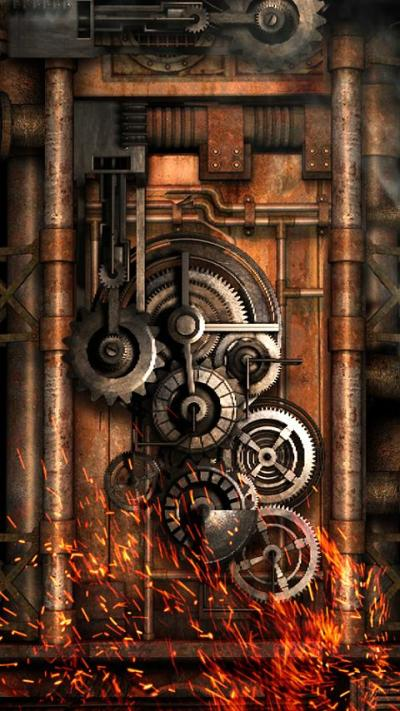 Steampunk Live Wallpaper Gears 8.0 APK Download - Android ...